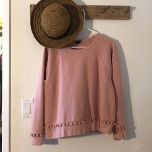 J crew Pom Pom sweater
